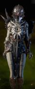 Meisterhafte Schlachtenmeister-Rüstung an Cassandra