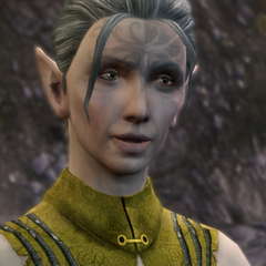 Ashalle, an old friend of The Warden's parents