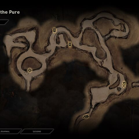 Map of Bastion of the Pure