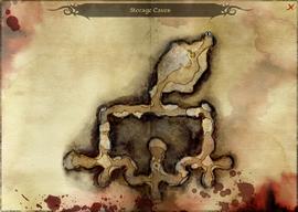 Storage Caves - map