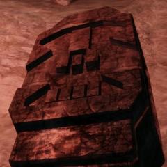 Das Grab eines Legionärs im <a href=