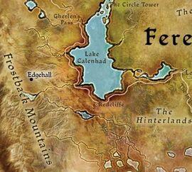Иджхолл карта