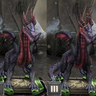 Tier progression of a High Dragon in <i><a href=