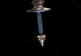 Рукоять одноручного меча 06
