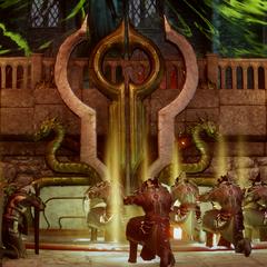 Templer stärken Barriere