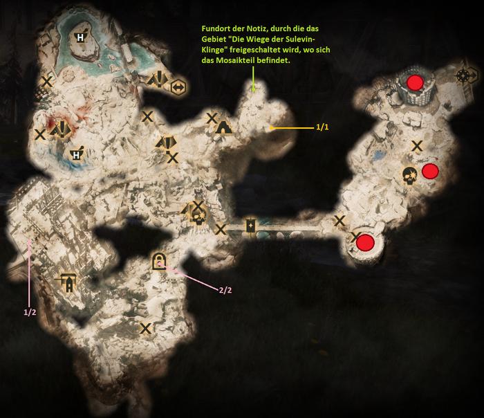 Emprise du Lion - Karte