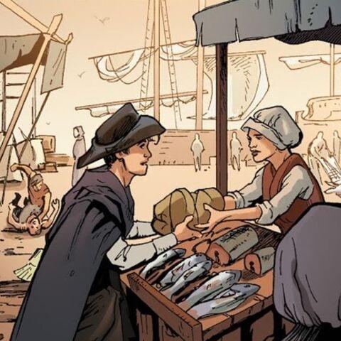 Fischmarkt in Hercinia