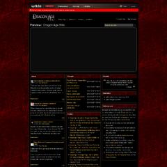 Mockup 2, Classic red splatter title bars