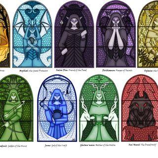 Elficki panteon Bogów