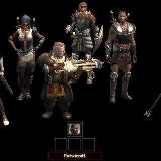 Menu wyboru towarzyszy w <i>Dragon Age II</i>