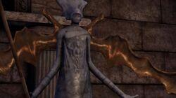 Elficki posąg