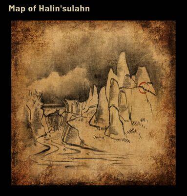 Map of Halin'sulahn