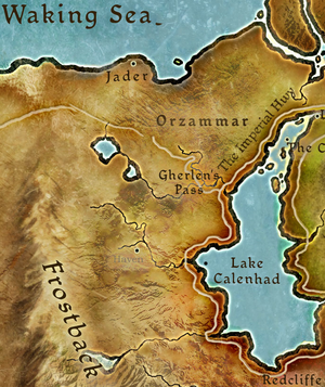 Orzammar map location