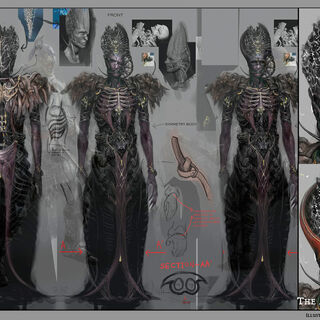Concept art of the Architect