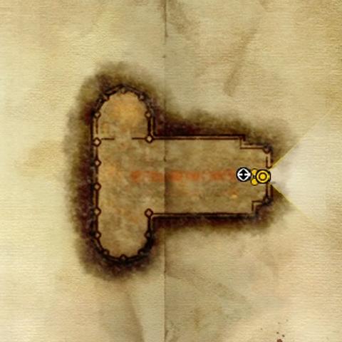Karte der Kirche