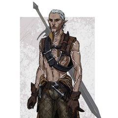 Concept art of Fenris in <a href=