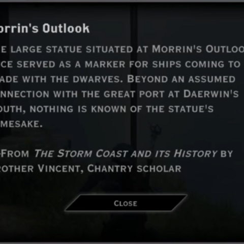 Morrin's Outlook Landmark