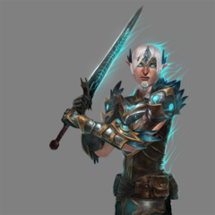 Promotional image of Fenris from <i>Heroes of Dragon Age</i>