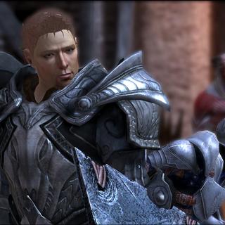 Alistair, Grey Warden in <i><a href=
