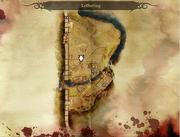 Der gefangene Qunari Karte