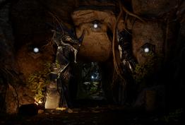 Astrarien in den Hinterlanden - Geheime Höhle