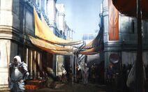 Górne Miasto - grafika koncepcyjna 1