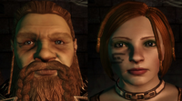 Male noble and female casteless dwarves