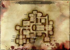 Замок Кусланд карта