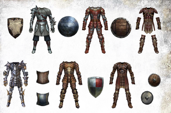 DAO Armour Set Artwork