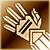 Medium gloves gold DA2