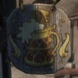 Корона и Лев лого