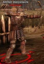 Opposant-Archer mercenaire
