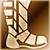 Средние сапоги (золотые)