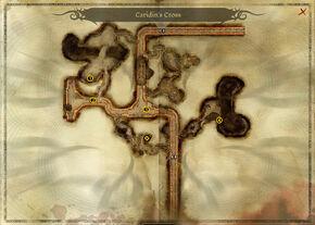 The Drifter's Cache - map
