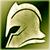 Тяжелый шлем (зеленый)