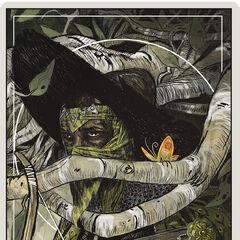 Der Jäger Tarotkarte