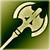 Боевой топор (зеленый)