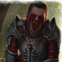 Ein Blutmagie-Opfer - ein <a href=