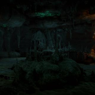Cavern in Heidrun Thaig