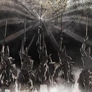 Eine Gruppe von Suchern in <i>Dragon Age: Dawn of the Seeker</i>
