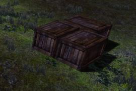 Ящик с припасами союзников
