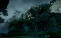 Astrarien in Kammwald - Eingang zur geheimen Höhle