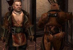 DA2 Varric's Tailored Leather Duster - (companion armor)