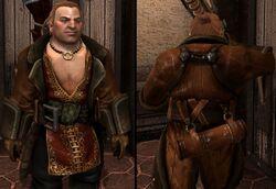 DA2 Varric's Tailored Leather Duster - (companion armor)