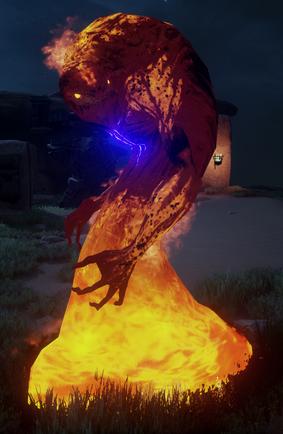 Пламенный страж могилы
