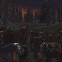 Die Schlacht bei Ostagar in <i><a href=