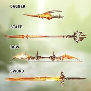Flames of the Inquisition weapons detail
