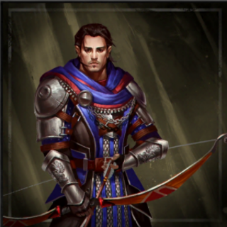 Promotional image of Nathaniel in <i>Heroes of Dragon Age</i>