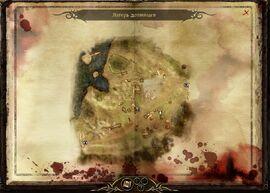 Карта лагеря долийцев