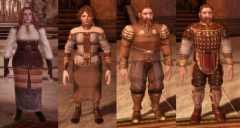 Where do dwarfs by clothes?